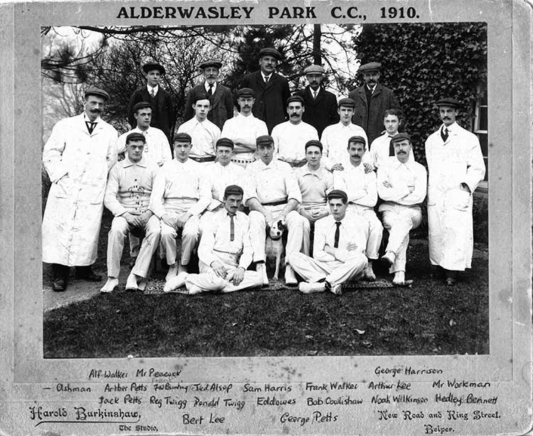 Alderwasley Cricket Club 1910