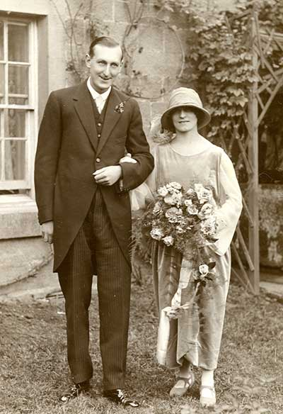 Willaim Alfred Barton and May Mountney wedding