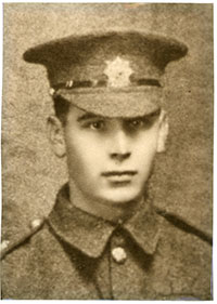 Leonard Berrisford soldier in WW1