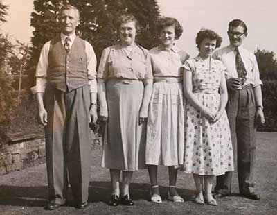 Alfred Bowmer family c1930s