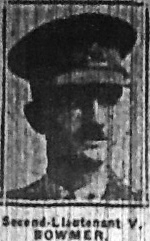 Vernon Bowmer newspaper photograph