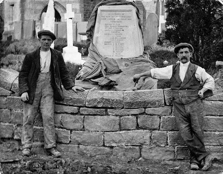 Isaac Coleman and the Crich War Memorial