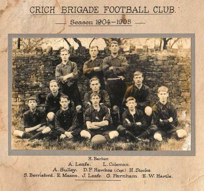 Crich Brigade Football Club 1905