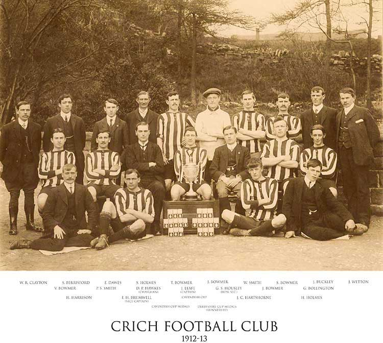 Photo of Crich Town Football Club 1912