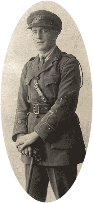 Joseph England in WW1