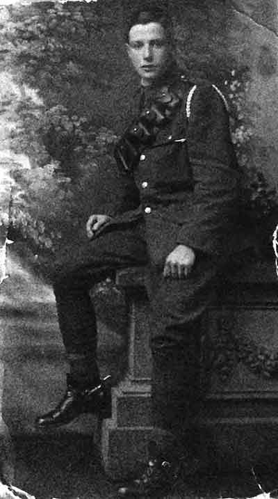Photo of Fred Fern in WW1