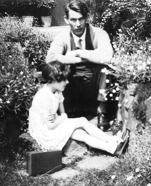 Frederick Godfrey with daughter Heather