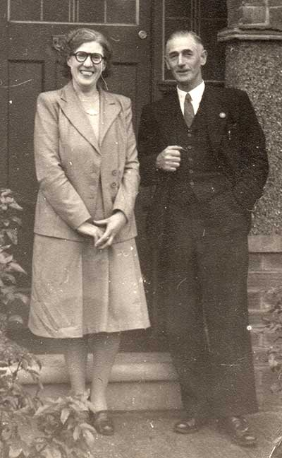 Thomas Greenhough and his wife
