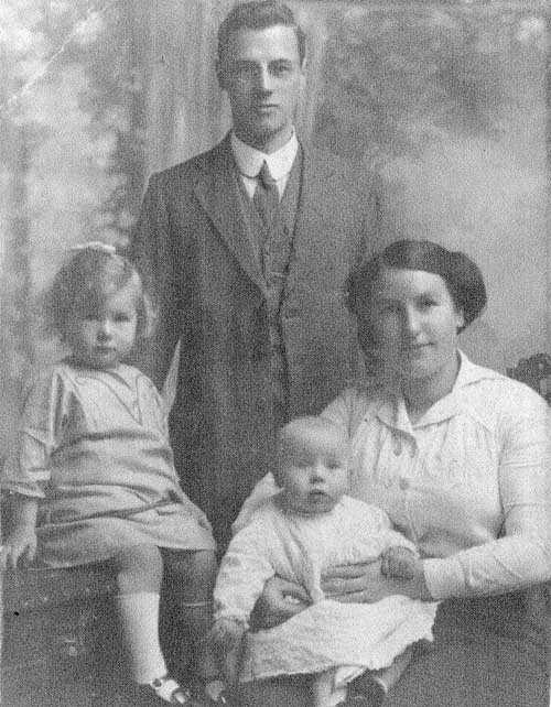 Family of Arthur Frank Hall