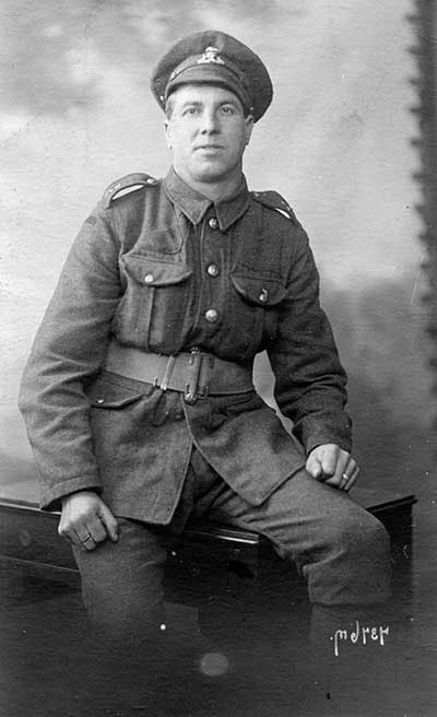 Charles Hartle in WW1