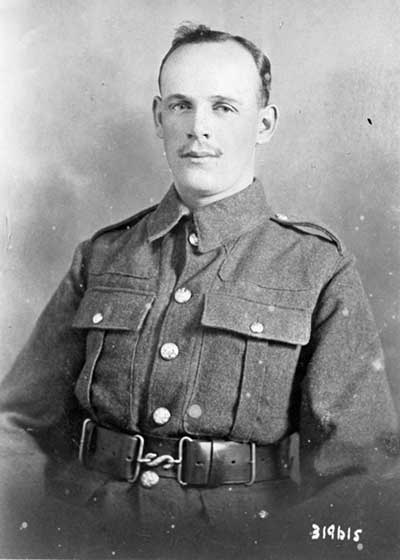 John Haslam soldier in WW1
