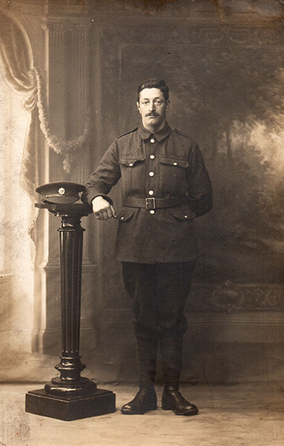 John William Heatchcote in WW1