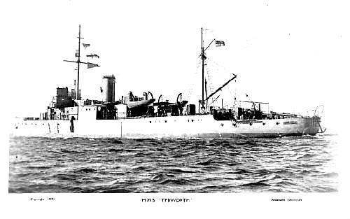hms Tedworth, minesweeper
