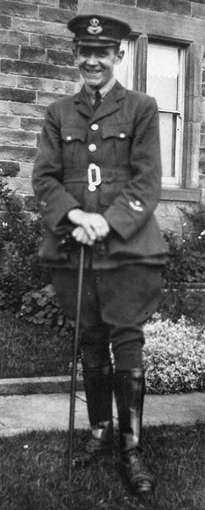 Jack Jarvis in RAF WW1