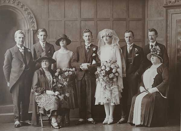 Harry Kay\'s marriage 1926