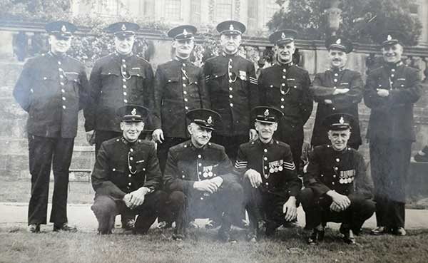 Special police force at Chatsworth after WW1