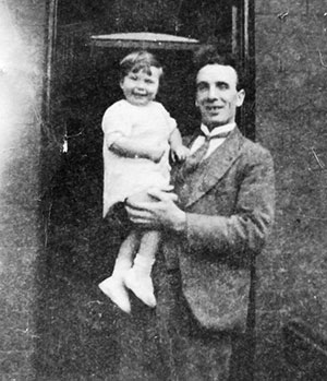 James Key and daughter 1930s