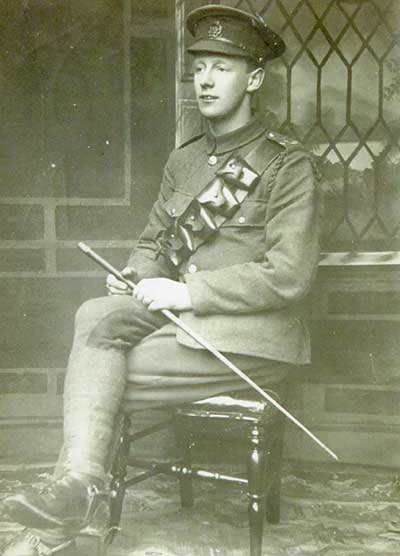Gerald Kneebone in WW1