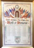 Roll of Honour Lea United Methodist Chapel