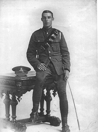 Photo of Samuel Lynam in WW1
