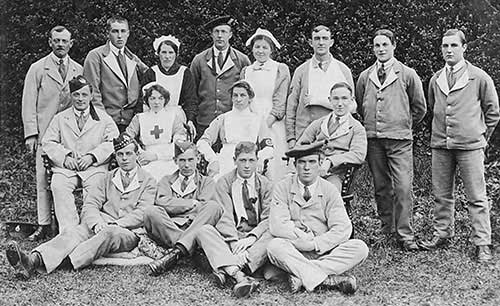 South Wingfield VAD hospital in WW1