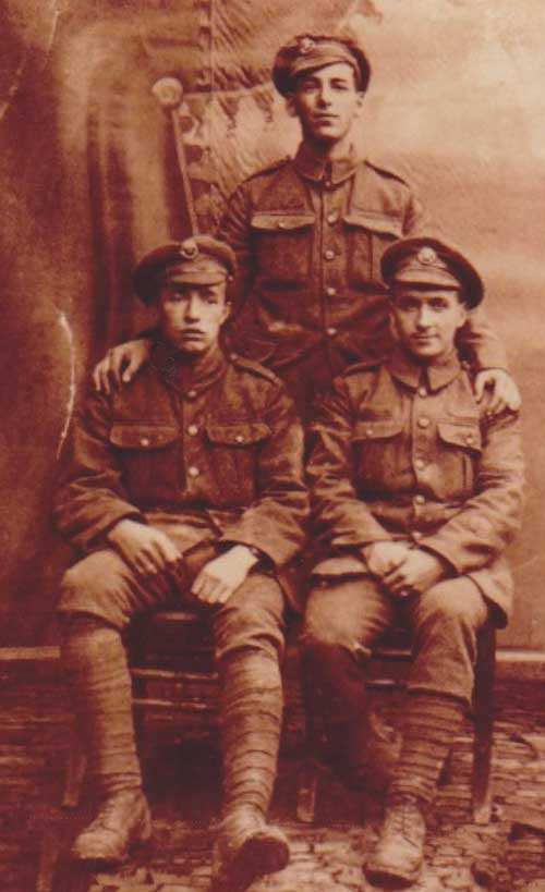 Maurice Perry and friends WW1