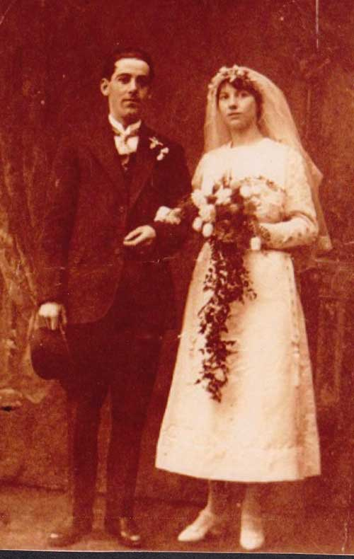 Maurice Perry wedding 1919