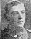 Newpaper photograph of Robert Pierpoint in WW1