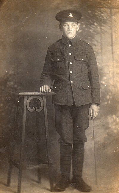 Harry Redfern in WW1