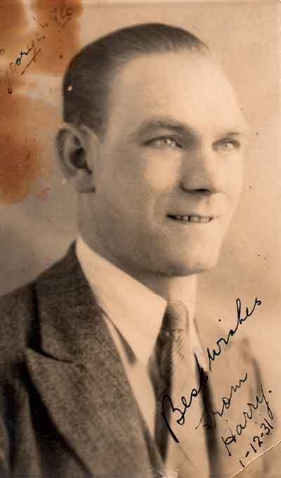 Harry Redfern in 1931