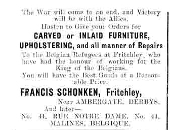 advert for Schonken furniture