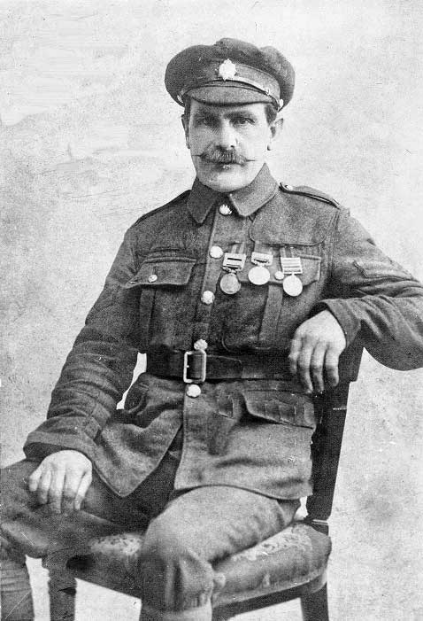 photo of William Shedon in WW1