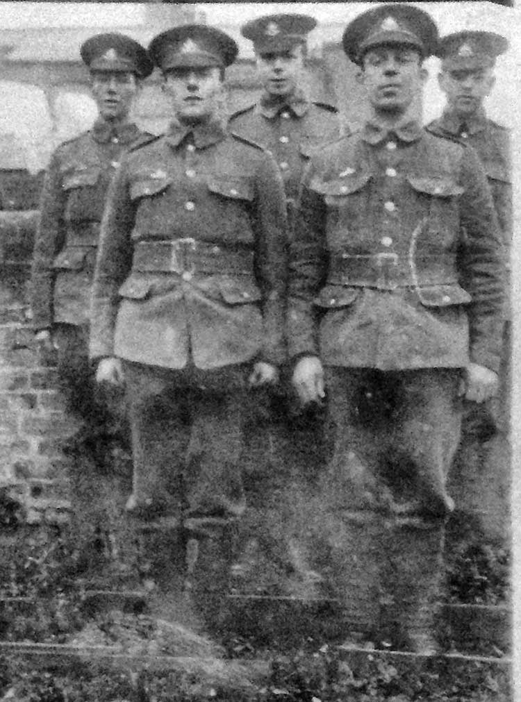 Sherwood Foresters in Ww1