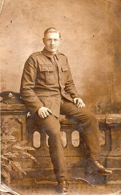 John Robert Stanley in WW1