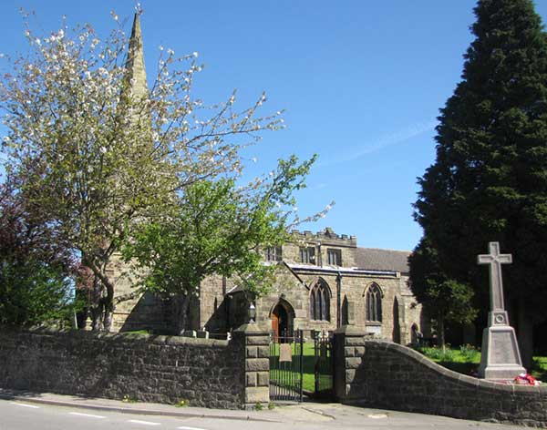 Photograph of St Mary's Church, Crich