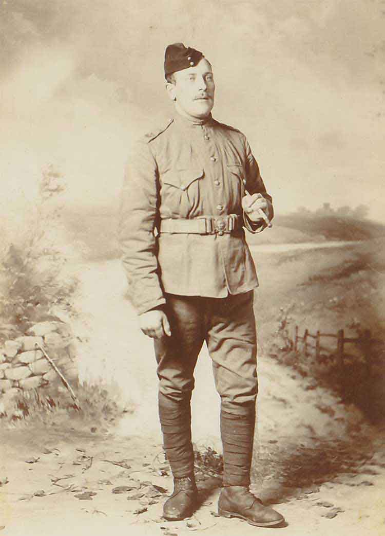 William Taylor in WW1