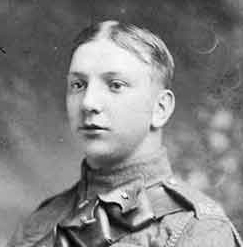 Wilfrid Thorpe in Ww1