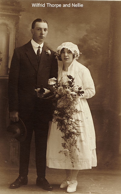 Wilfrid Thorpe's wedding