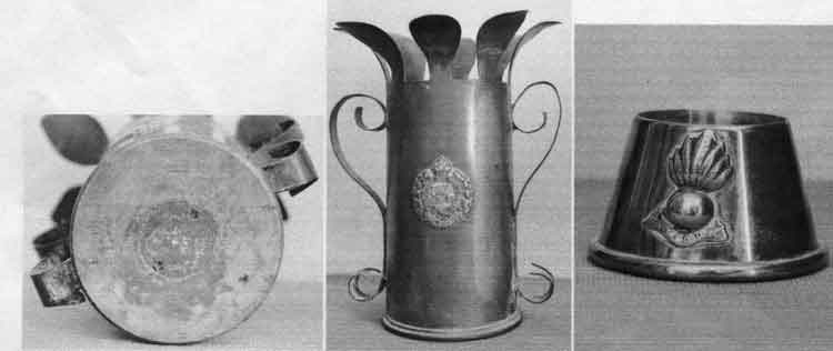 trench art in Ww1