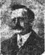 Newpaper photo og Charles Wain in WW1