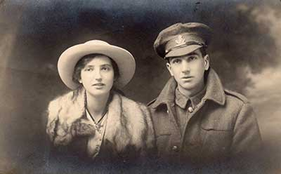Robert and Doris Wass WW1