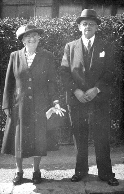 Walter Wetton and his wife