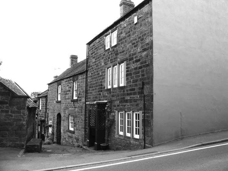 Site of the Wheatsheaf Pub in Crich